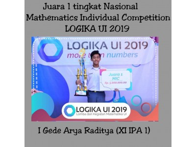 Mathematics Individual Competition Logika UI 2019